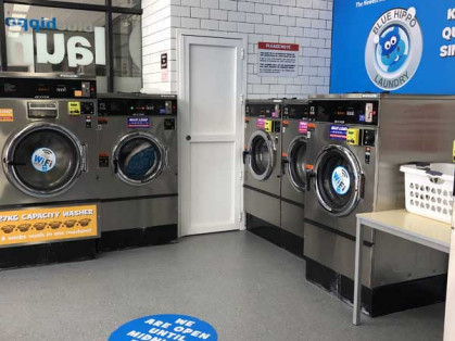 Blue-Hippo-Taylors-Hill-Coin-Laundromat