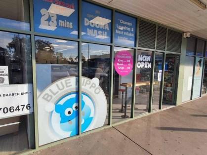 Blue-Hippo-Laundry-Werribee-Outside