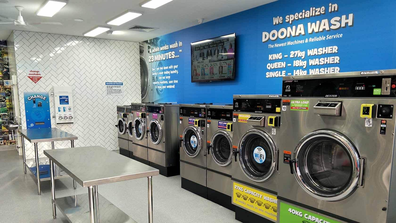 melbourne laundromats
