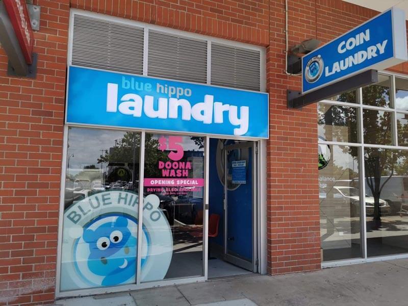 Blue Hippo coin laundry Caroline Springs