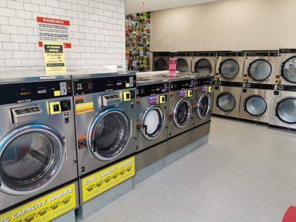 Caroline Springs Laundry Blue Hippo