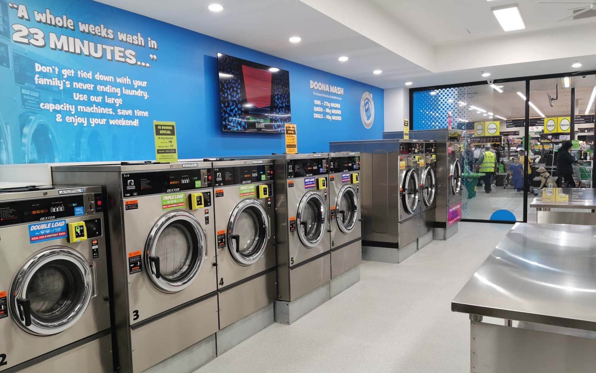 Coin Laundry in Melton