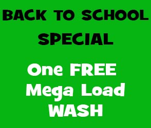 Back to School Special Free Mega Wash Load Altona Meadows