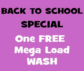 Back to School Special - Free Mega Wash Load Hoppers Crossing