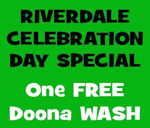 Riverdale Celebration Day Offer