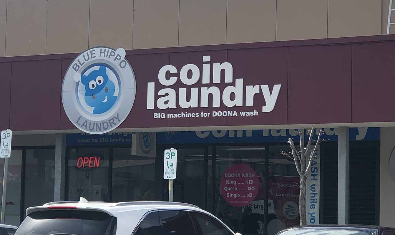 Blue Hippo Coin Laundry Cairnlea