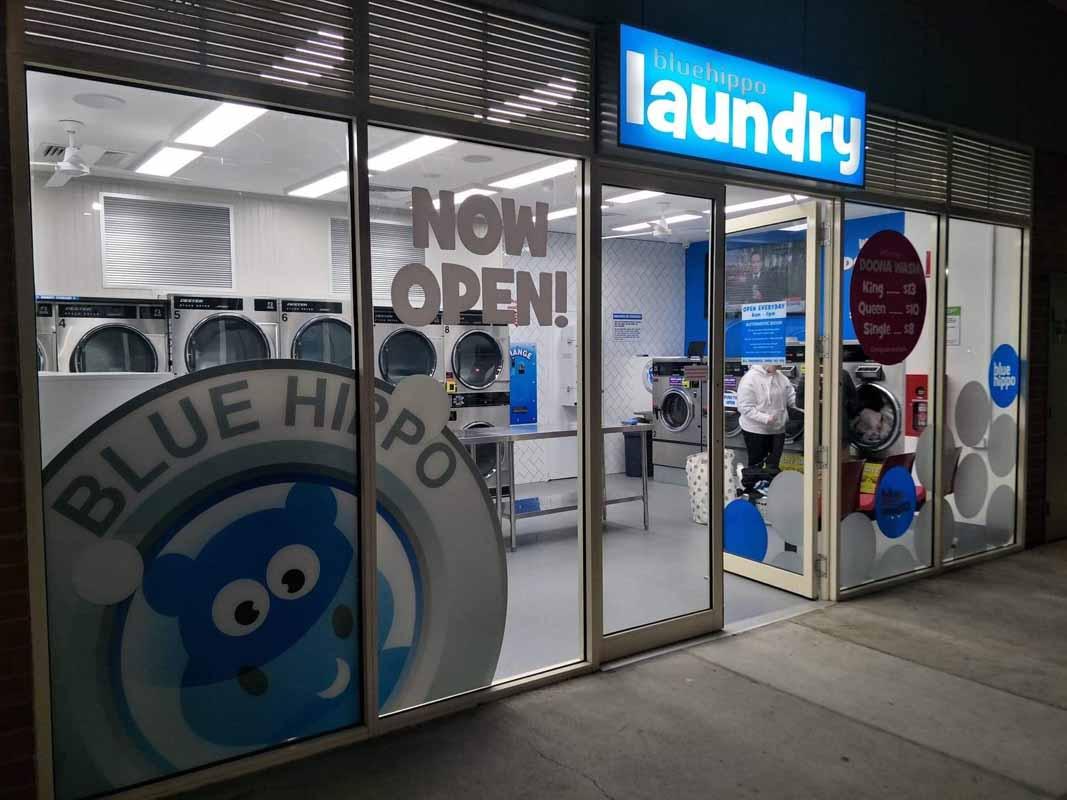 Blue Hippo Laundry Newcomb